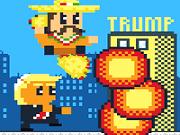 Taco Trump Down