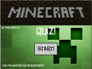 play The New Minecraft Quiz