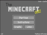 The Minecraft Quiz …