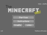 The Minecraft Quiz